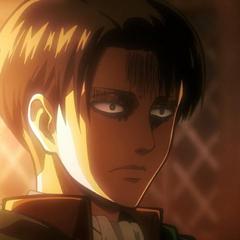 Expresión en el rostro de Levi al hablar con el Sr. Ral.
