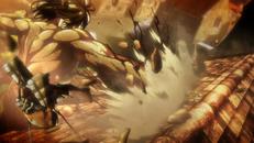 Eren Attacks Mikasa Anime