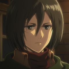Aspecto actual de Mikasa