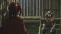 Sasha discute con su padre