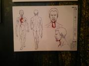 Panel del padre de Connie en forma de titán