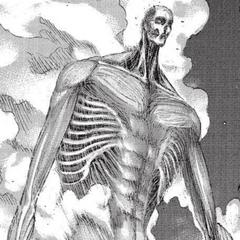 Armin en su forma de titán