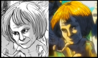 Armin si fuese Titán