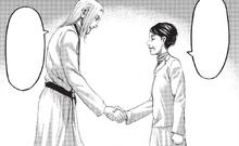 Kiyomi le desea suerte a Willy