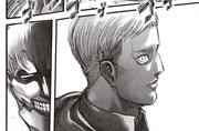 Erwin se encuentra con el Titán Acorazado