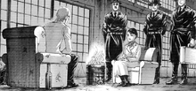Kiyomi se reune con Zeke