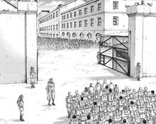 Zona de internamiento Liberio