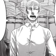 Erwin declarando ante los nobles del gobierno