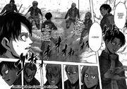 El escuadrón de Rivaille desconfía de Eren