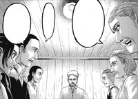 La familia Braun pregunta a Reiner sobre su tiempo en Paradis