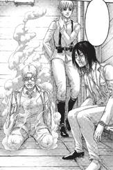 Eren, Yelena y Zeke