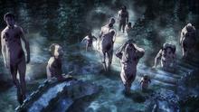 Varios titanes se aproximan a Utgard