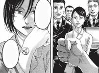 Mikasa revela su tatuaje