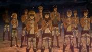 Nuevos miembros de la legión de reconocimiento