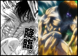 Mikasa si fuese Titán