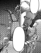 Reiner le pide a Falco que salve a Gabi