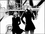 Matteus y Xavi llegan a la Ciudad Industrial