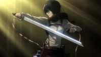 Mikasa desenvaina