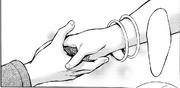 Carly le extiende su mano a Annie