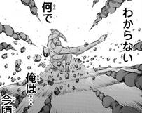 Zeke arroja piedra a los soldados