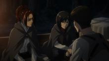 Levi y Mikasa hablan sobre la Familia Ackerman