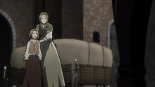 Louise se entusiasma al ver a Mikasa