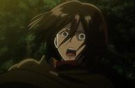 Mikasa ve a Eren ser deborado