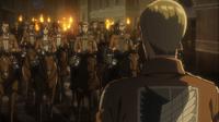 Los soldados se preparan para partir
