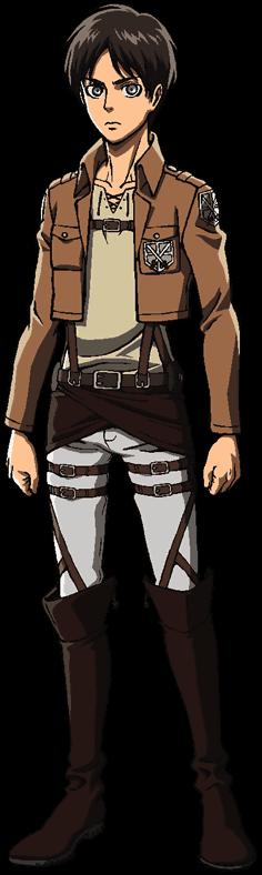 Eren Yeager full body