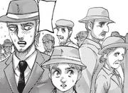 Jean et Armin, gênés par l'attitude de leurs camarades