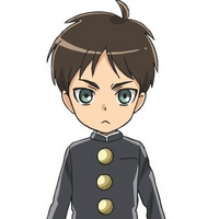 Eren Jaeger (Junior High Anime) character image