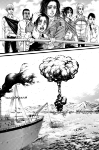 Keith and Magath explode the Marleyan ship