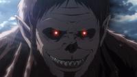 Der Tiertitan grinst