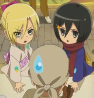 Mikasa and Annie's rivalry
