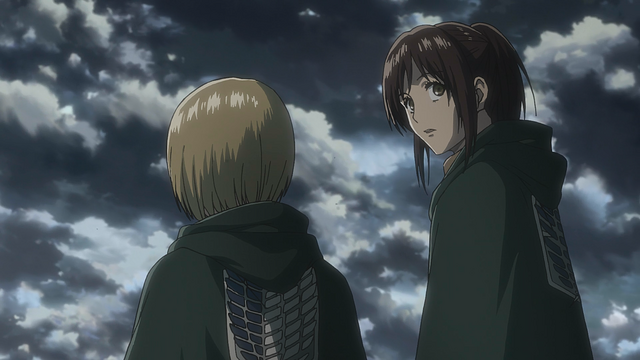 File:Armin and Sasha hear Reiner's confession.png