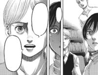Armin considers having Eren devoured sooner