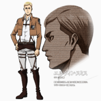Erwin design anime