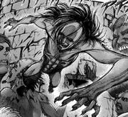 Ymir Titan Mâchoire - Manga