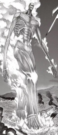 Armin's Colossus Titan's full body