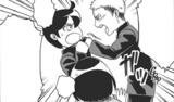 Jean qui continue malgré ce qu'a dit Mikasa