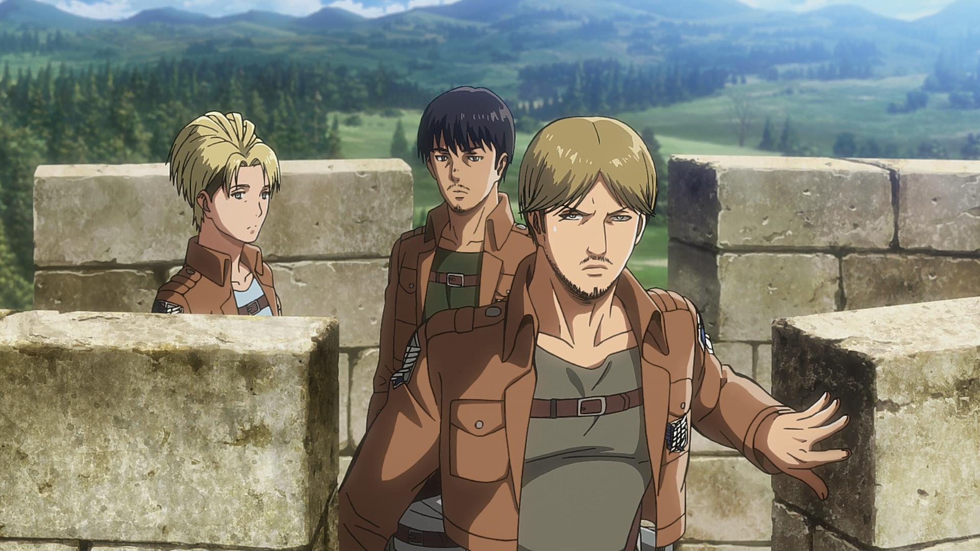 Squad Miche (Anime)   Attack on Titan Wiki   Fandom