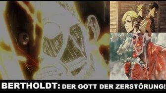 BERTHOLDT Der GOTT der ZERSTÖRUNG! AoT Charakter Analyse