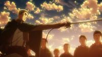 Erwin ogłasza rozpoczęcie operacji odzyskania muru Maria