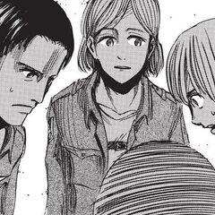 Armin le explica su plán a Anka y a Gustav.