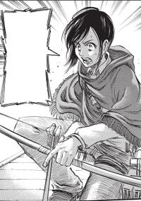 Sasha rettet Mikasa