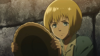 Armin grieves for his grandfather