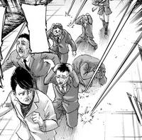 Kiyomi is shot at