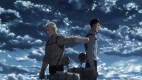 Reiner and Bertholdt part ways