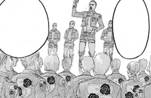 Survey Corps recruitment drive post-coup