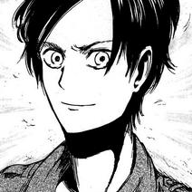 Eren's appearance in manga
